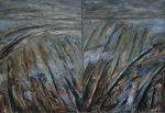 Winter Field Diptych by Keith Ayton