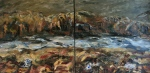 Mountain Stream Diptych